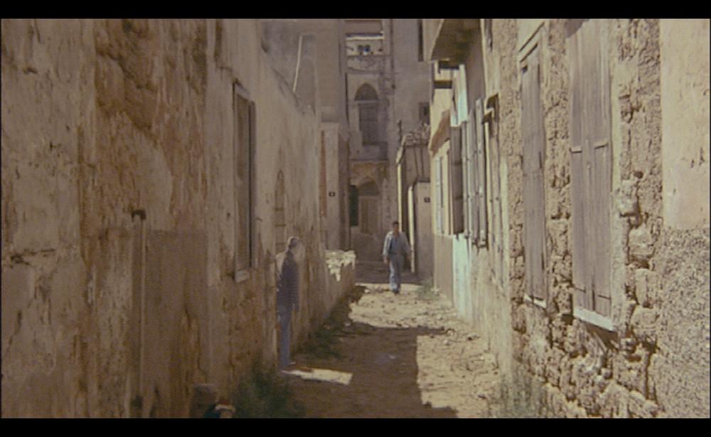 Kamal Aljafari, still from  Port of Memory , 2009.