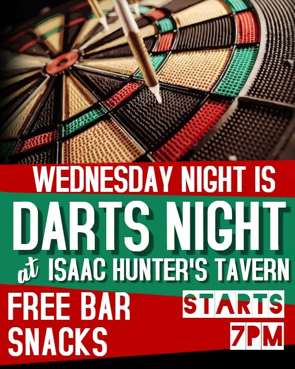 Whiskey Wednesday's just got even better. Come learn a few tricks from The Raleigh Dart League on Wednesday nights! #WhiskeyWednesday  #RaleighDartLeague