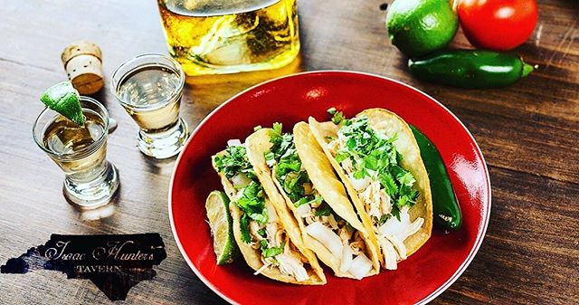 Did someone say..... TACO TUESDAY?! That's right! Come on by tonight at 5:30p for tacos and tequila! Every Tuesday is Taco Tuesday which means FREE tacos for you! And the perfect tequila to pair with it is on special! . . . . . #TacoTuesday #IsaacHuntersTavern #TacosYtequila #DrinkLocal
