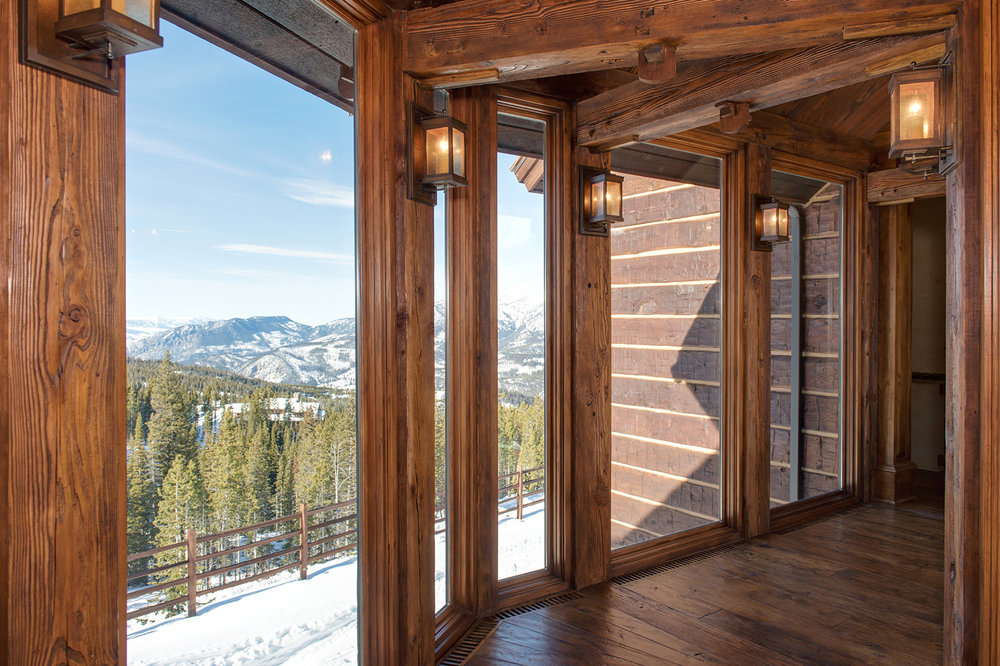 The walls of views in this breezeway are nothing short of spectacular.