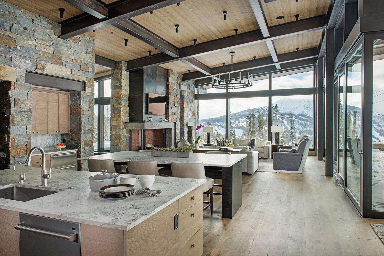 The mountain modern home