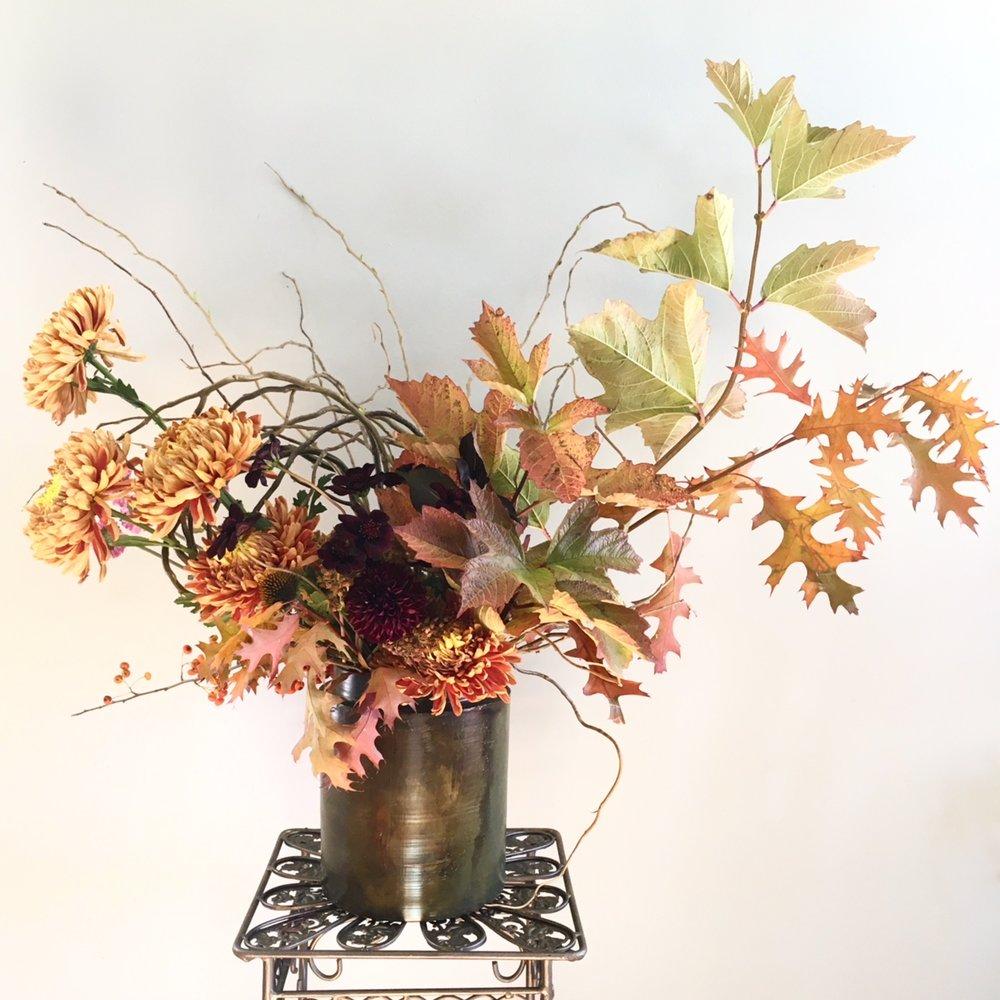 Botanicamuse fall arrangement