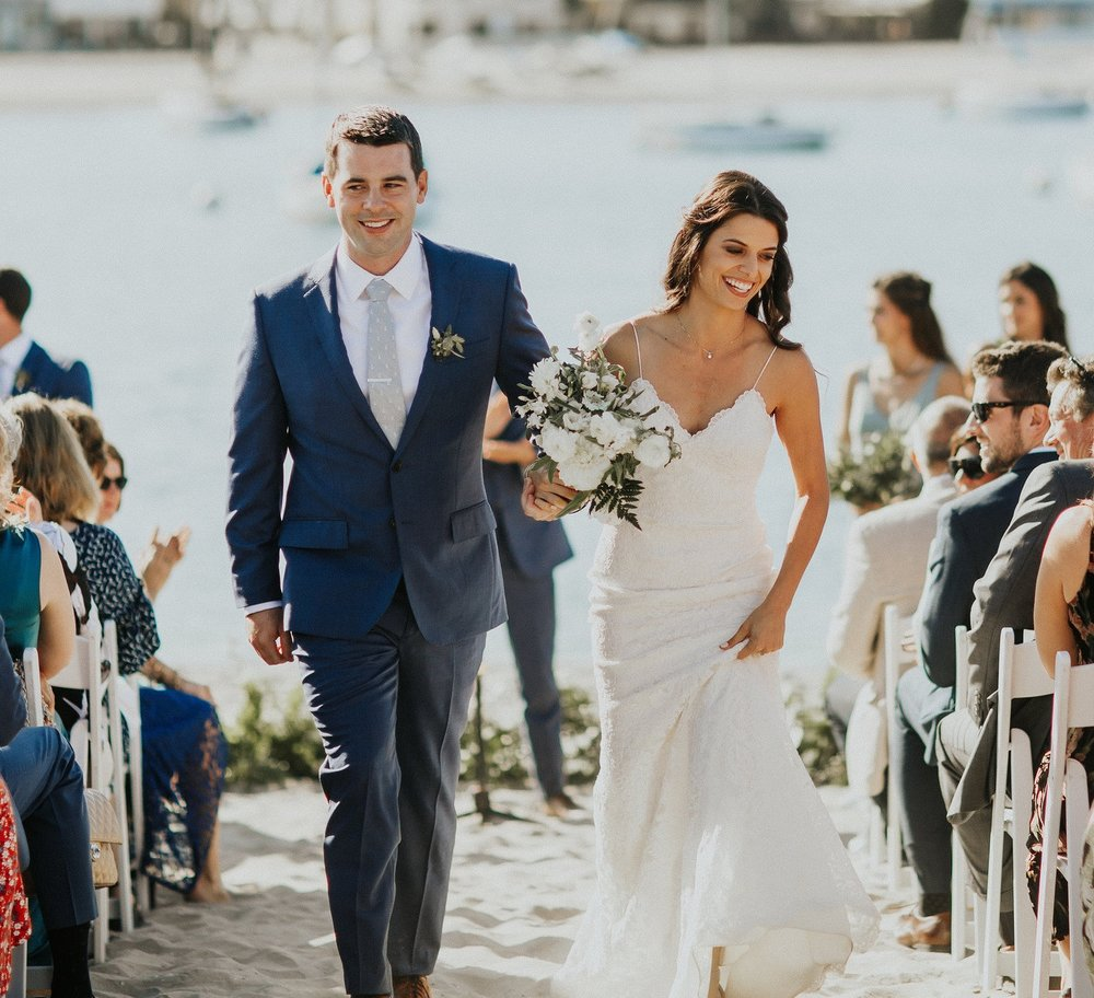 Sabrina + Patrick at San Diego Yacht Club