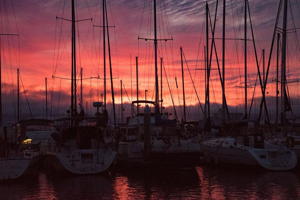 San Diego Bay, Sailing, California