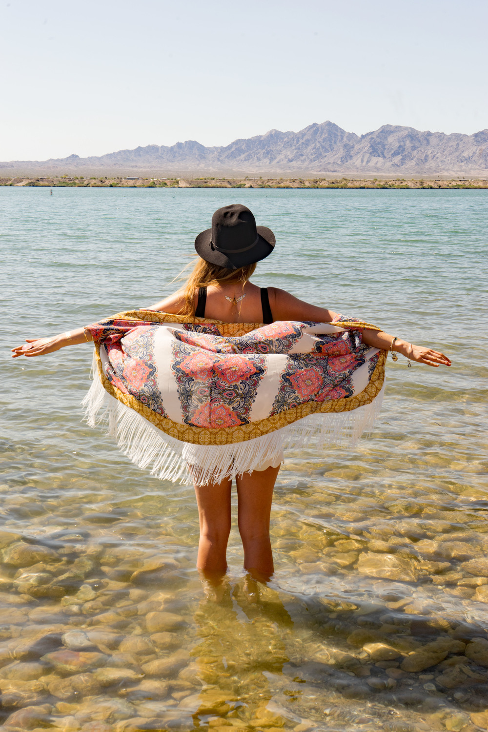 Lake Havasu City Arizona Swimwear Bikini Spring Break Kimono