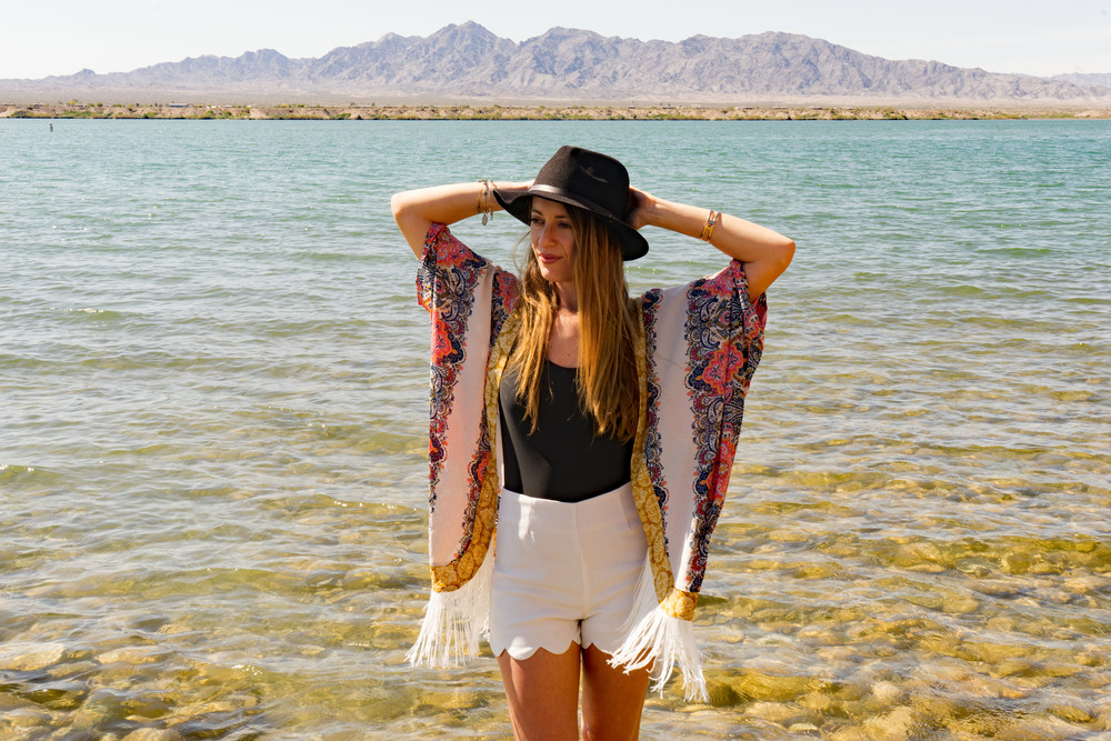 Lake Havasu City, Arizona, Water Wanderer, Bikini, Swimming, Spring Break, Kimono