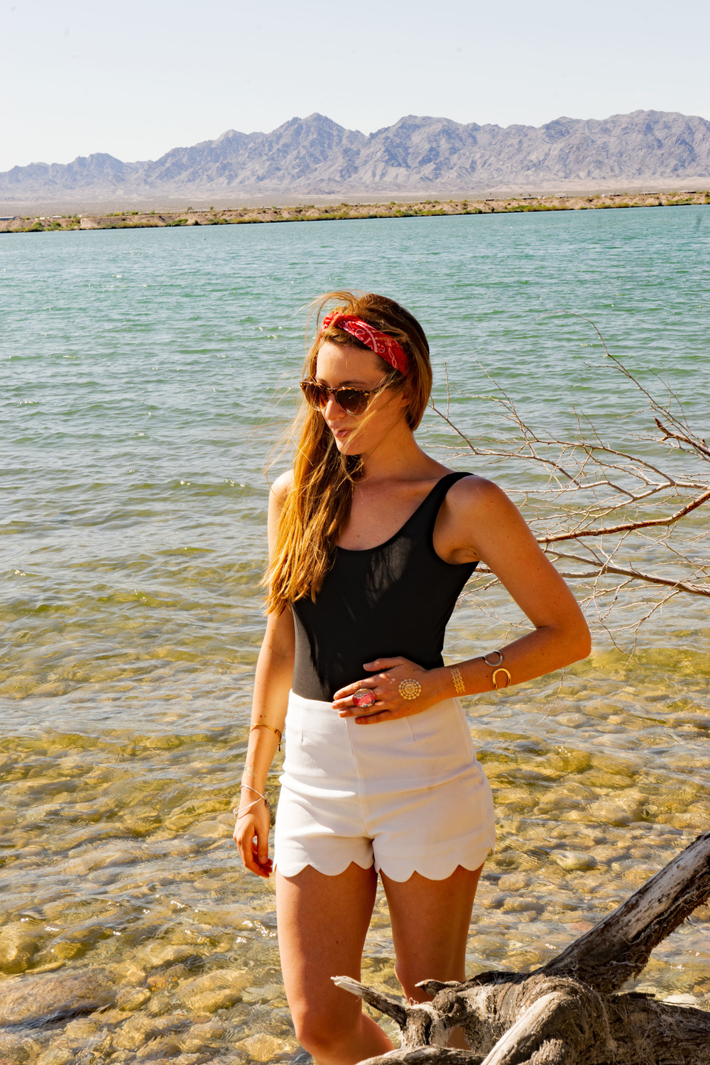 Spring Break Lake Havasu City Arizona Water Wanderer Taylor & Sage Kimono