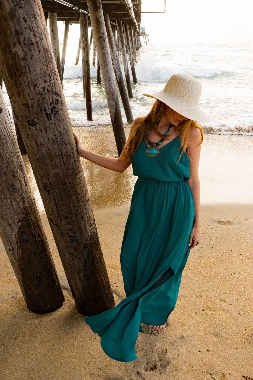 San Diego Sunset Spring Beach Ocean Loft Dress Outfits