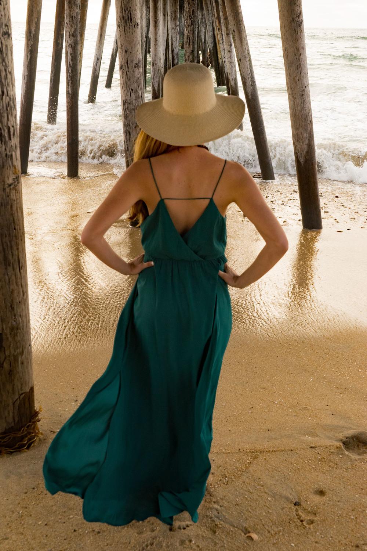 Ann Taylor Dress Beach Bohemian Ocean
