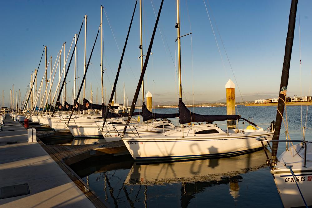 Sail boat, sailor, marina, Ocean, Sailing, San Diego