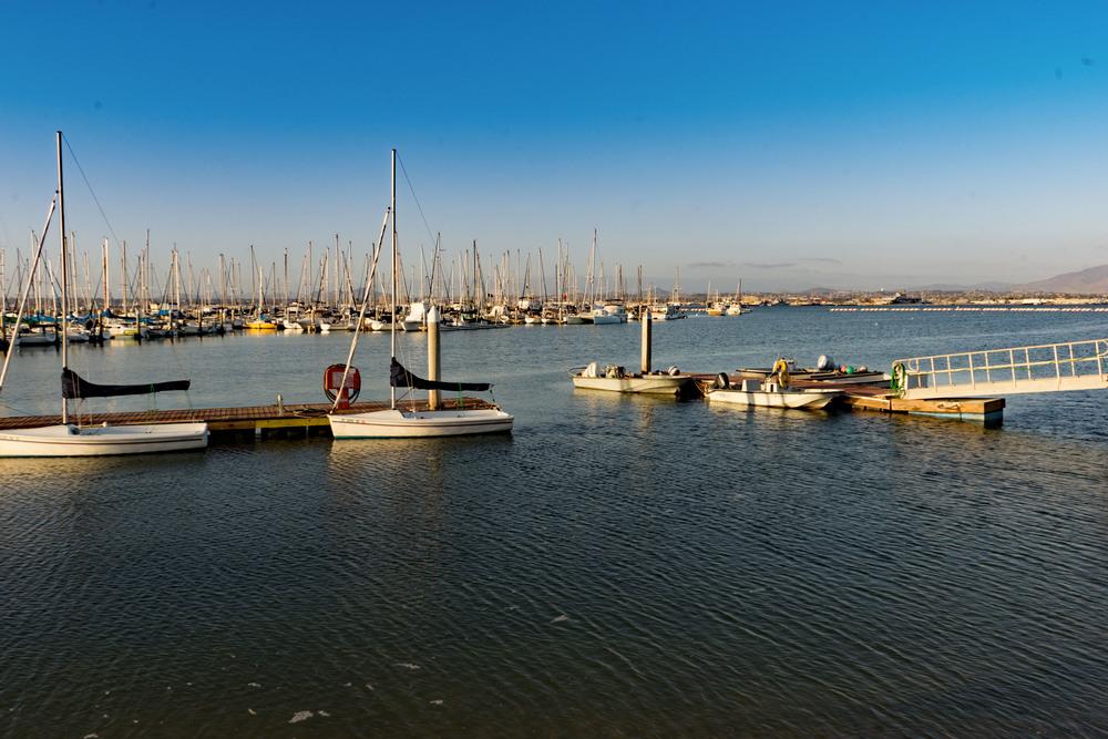 Sail boat marina, Coronado, San Diego