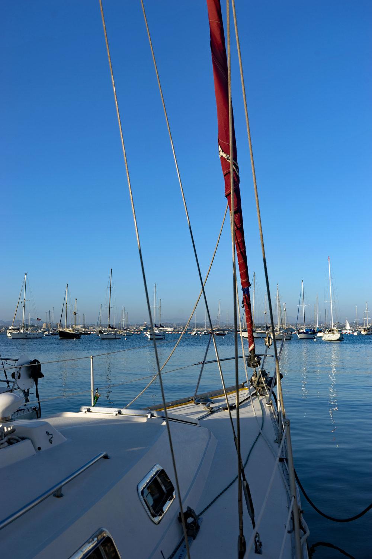 Sailing, San Diego