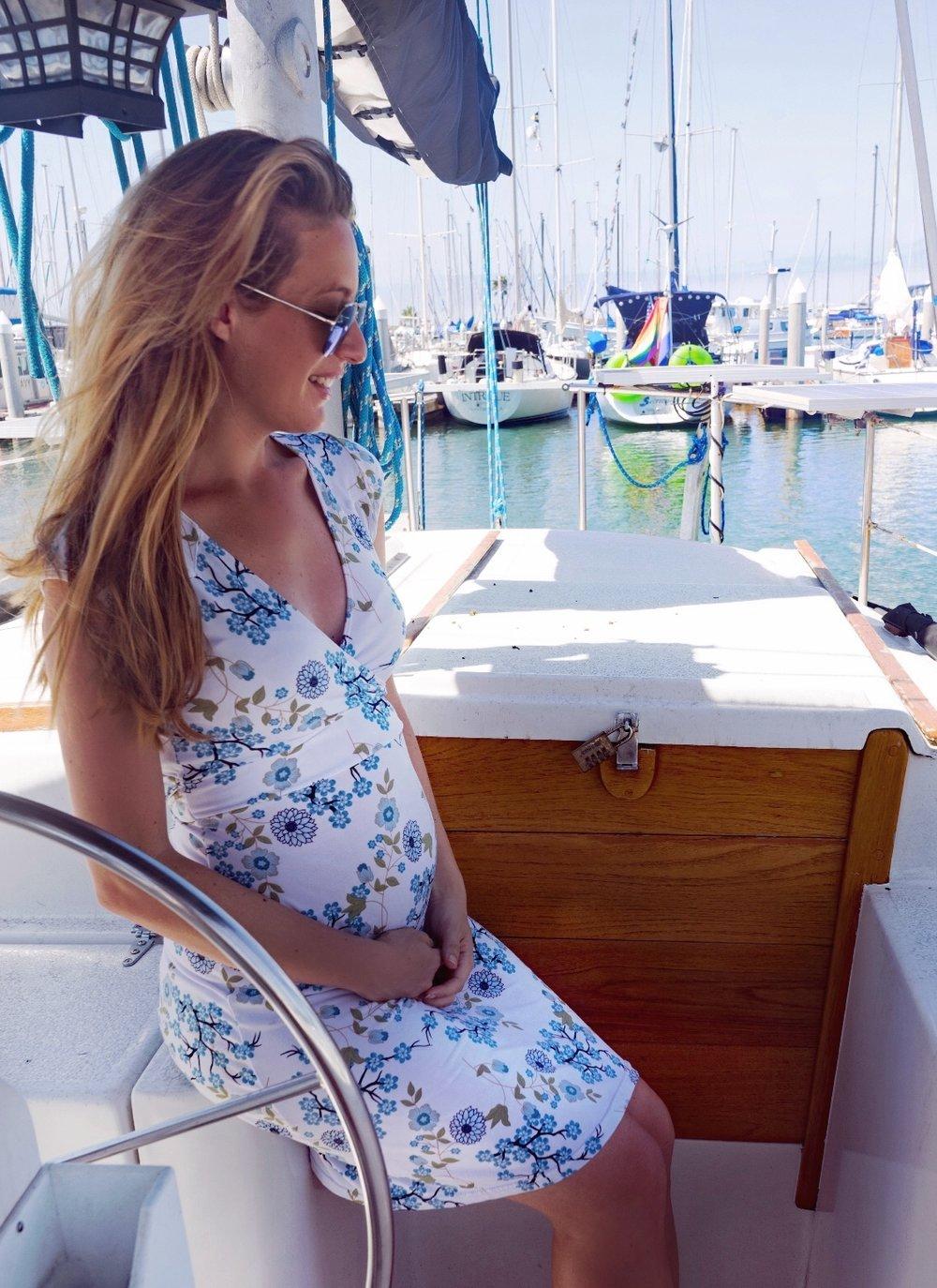 Sailor, San Diego, Pregnant