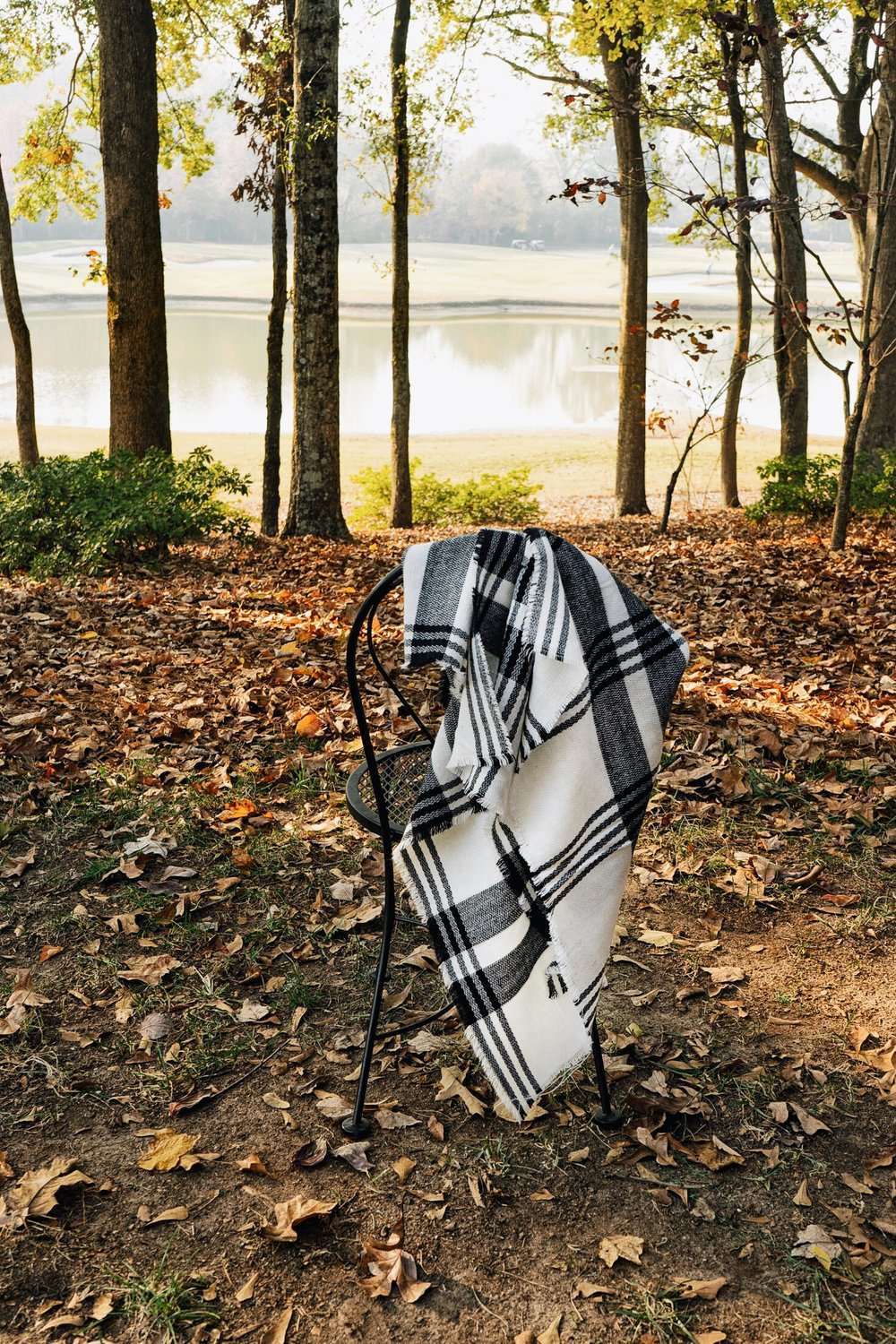 Zaful Boutique Plaid Blanket Scarf
