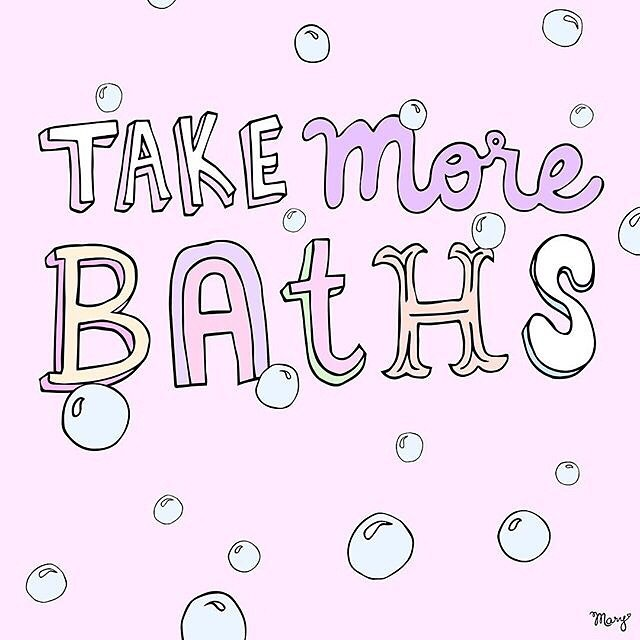 Love this! Anyone else feeling the Sunday night bath routine? I love starting the work week after a bath with bath bombs and coconut oil. What's your bath secret? Art by @drawnbymary . . . . . #selfcare #selfcaresunday #loveyourbody #baths #bodypositive #feminism #feminist #tofemco #underwire #underwirepod