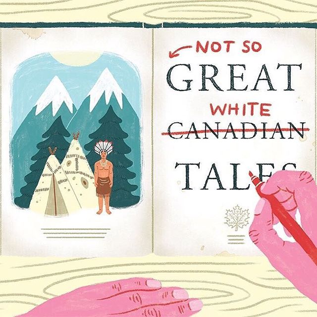 #repost @careykatie . Reissuing historical Canadian literature often requires contending with colonial and racist language and ideas. For @quillandquire and the ever so talented @erinmcphee who is always a pleasure to work with . . . . . #canadaday #canada #iamcanadian #reconciliation #truthandreconciliation #greatwhitenorth #decolonize #decolonizenow #colonialism #feminism #intersectionalfeminism #feminist #canadian #toronto #torontolife