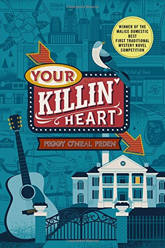 Your Killin Heat - Cover design and art direction by me, illustration by Lucie Rice. Minoutaur Books
