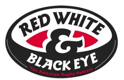 Red White and Black Eye