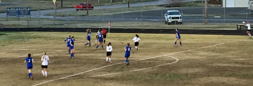 Lady Tigers battle Newkirk at O'Dell Field - photo by RDMGtv