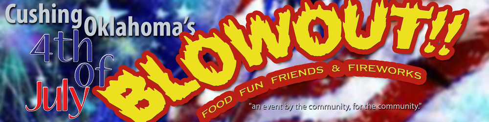 Parade down Broadway @ 10am the Memorial Park ALL day activities @ Noon 'til fireworks.