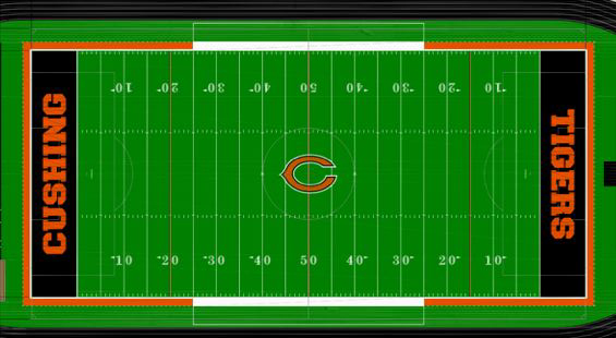 New Turf being put in place at O'Dell Field - Courtesy CHS Athletic Dept.
