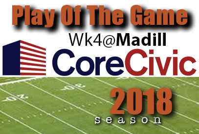 Click to watch the Core Civic Play Of The Game     :   from RDMGtv