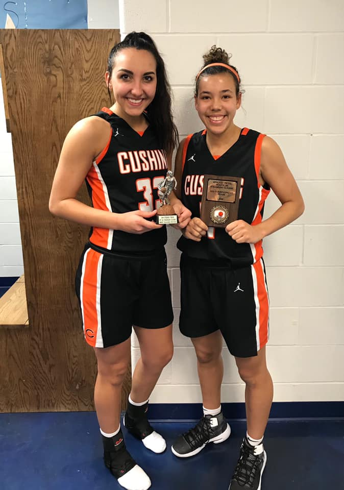 Braelyn Berlowitz All-Tournament MVP /  Ariya Reginer Named to All-Tournament Team