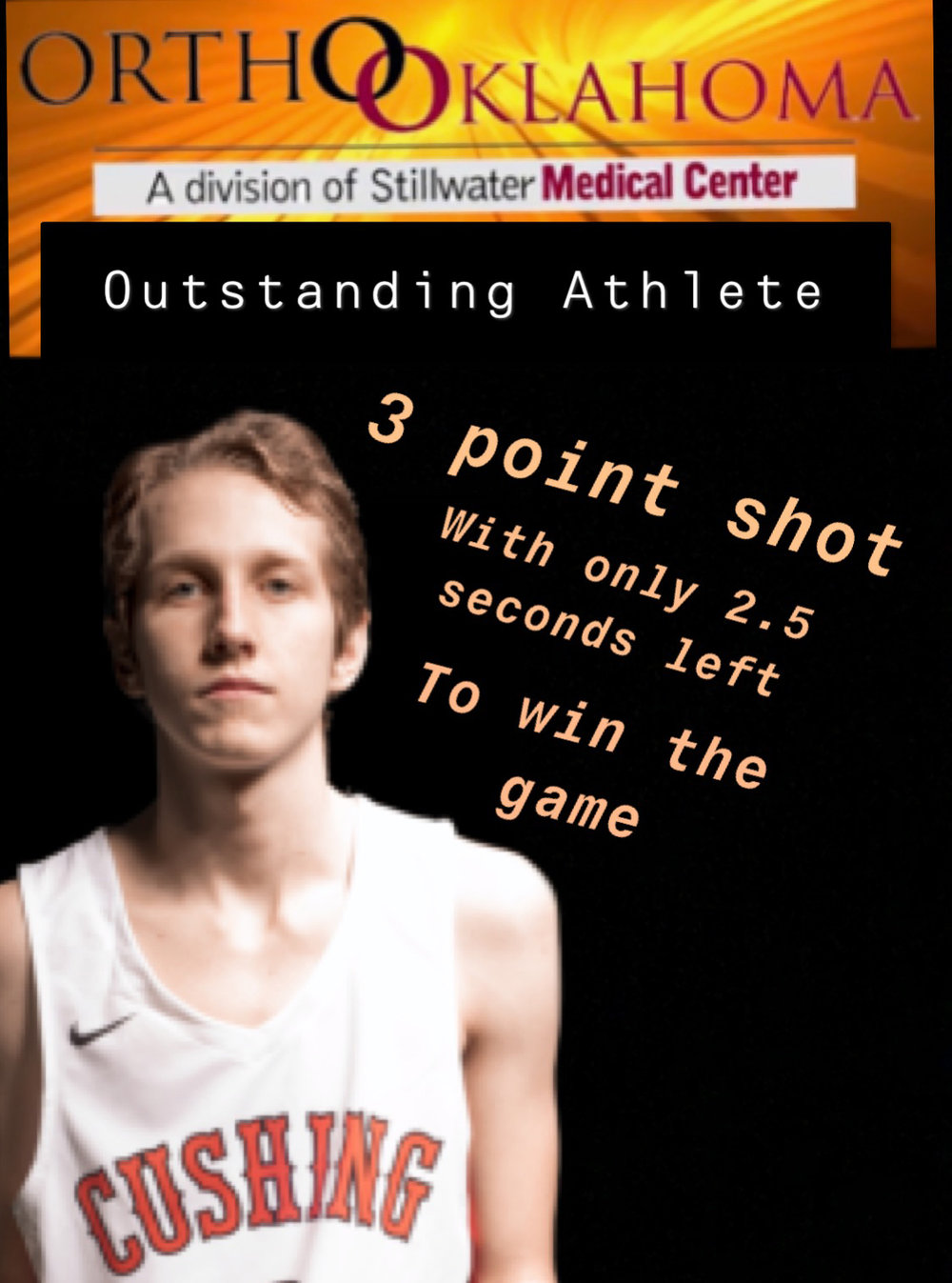 This week's Ortho Oklahoma Outstanding Athlete