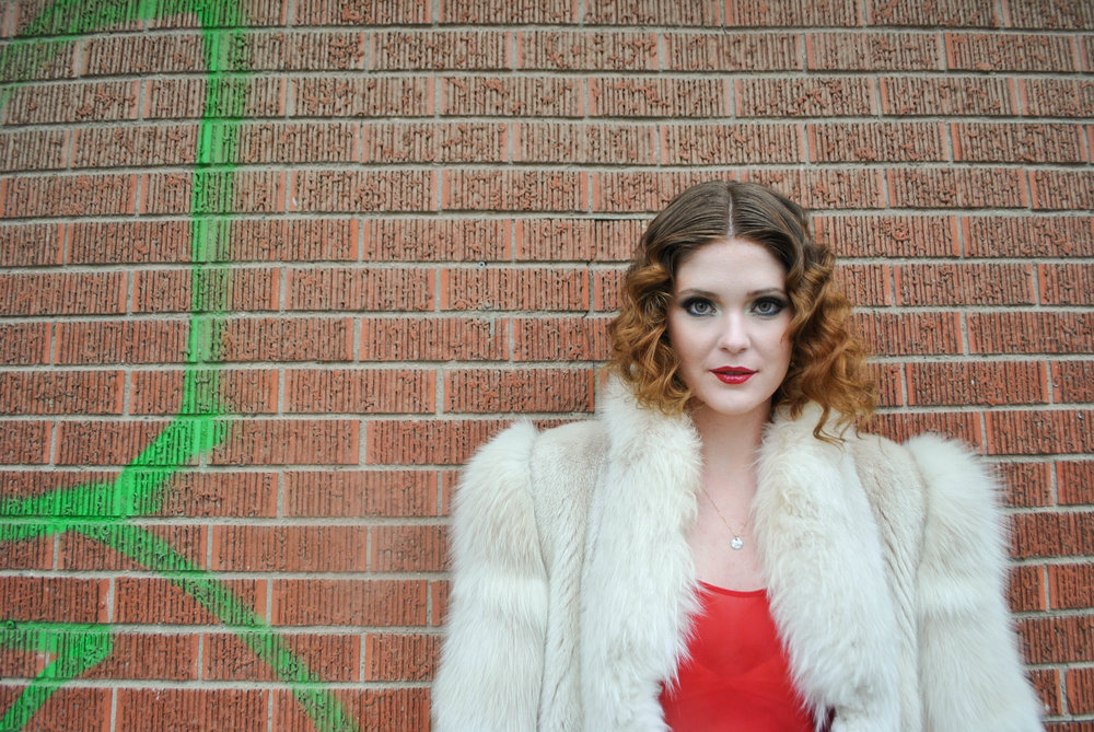 Model: Megan Fulmes  Hair Stylist: Lindsay Anderson