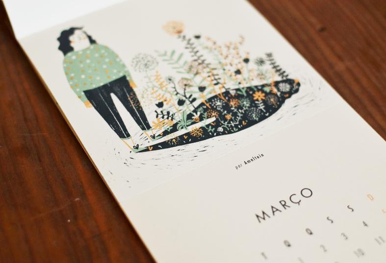 calendário beija-flor Amalteia