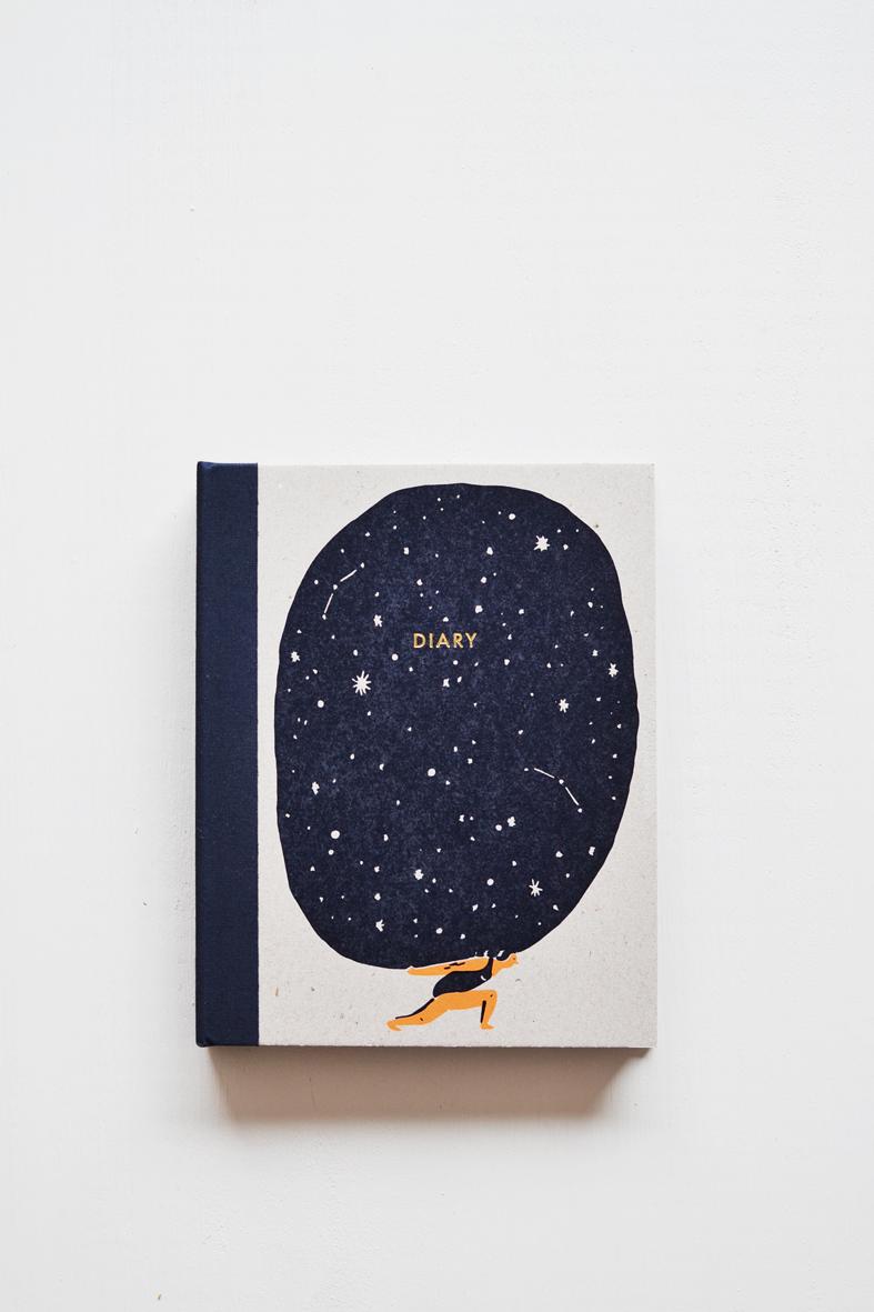 beija-flor diary cover