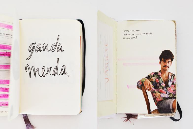 cadernos su beija-flor