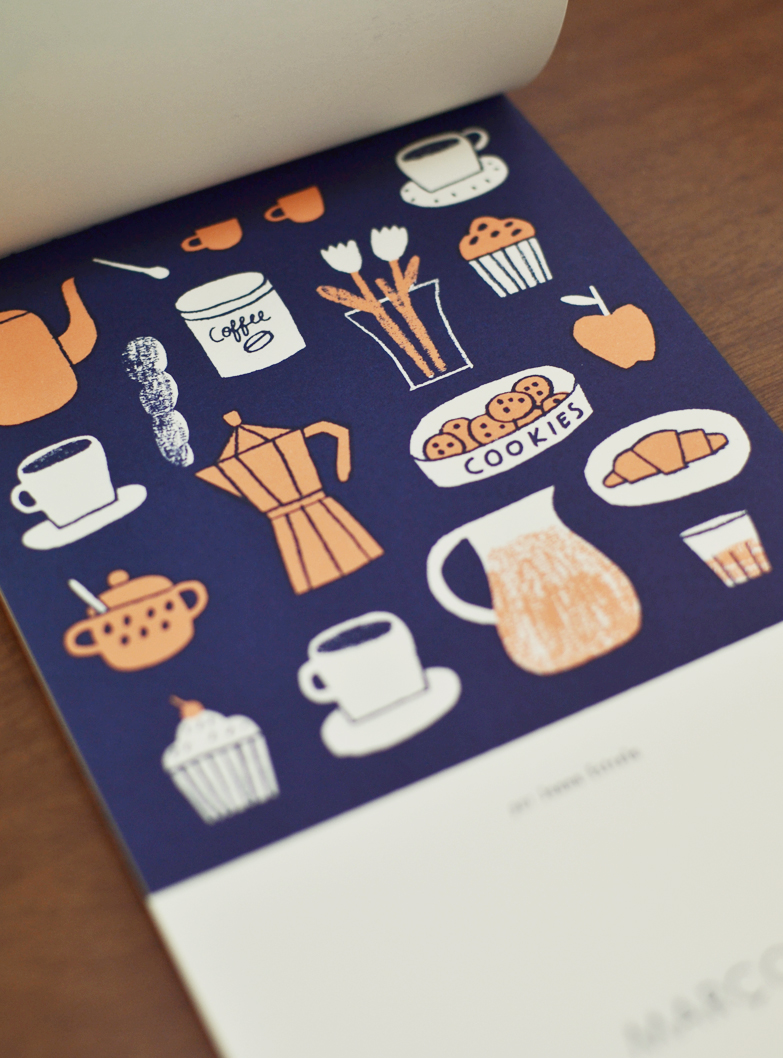 Março, ilustrado por Joana Estrela / March, illustrated by Joana Estrela.
