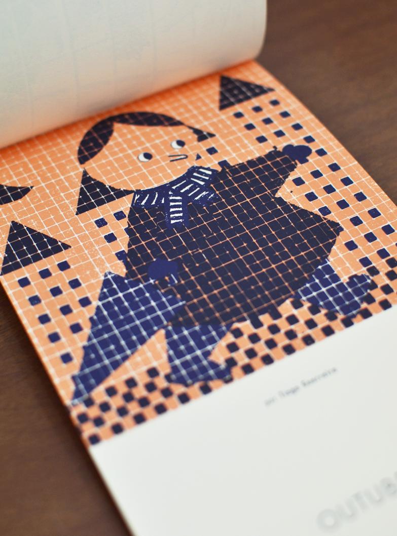 Outubro, ilustrado por Tiago Guerreiro / October , illustrated by Tiago Guerreiro