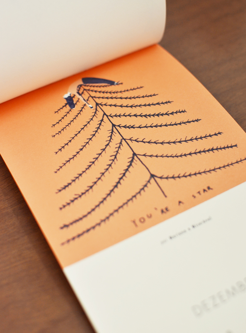 Dezembro, ilustrado por Mariana a Miserável /  December, illustrated by Mariana a Miserável