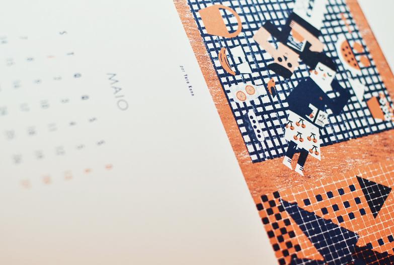 calendario beija-flor