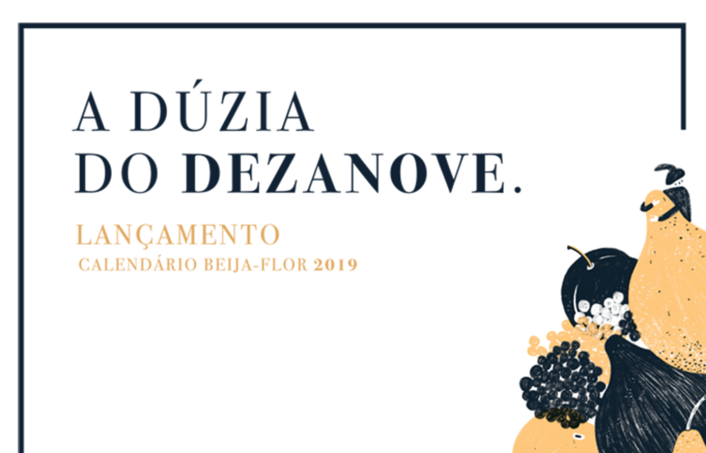 Calendario 2019 Rosa Portugues.Calendario Beija Flor 2019 Beija Flor