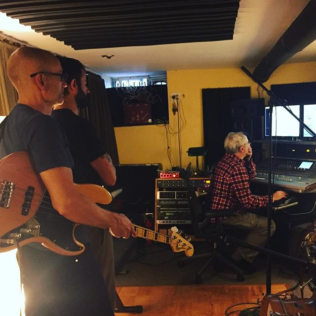 It's been a long time, but today marked the end of our silence as we found ourselves back in the studio @southbrooklynsound to record 2 new songs. After a fabulous 8 hr recording session we came away with loads of great tracks for drums, bass & guitar. Can't wait to do it again! #recordingsession #recordingstudio #music #originalmusic #southbrooklynsound #guitarist #drumset #drummer #band #indieartist #folkrock #alternativerock