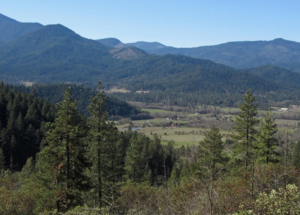 View of the Williams Valley from the Layton Ditch, Photo: Cheryl Bruner