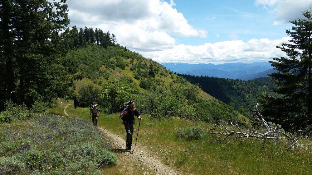 Walking the Wild Applegate is a documentary film following the first thru-hike of the Jack-Ash and Applegate Ridge Trails, from Ashland to Grants Pass, OR