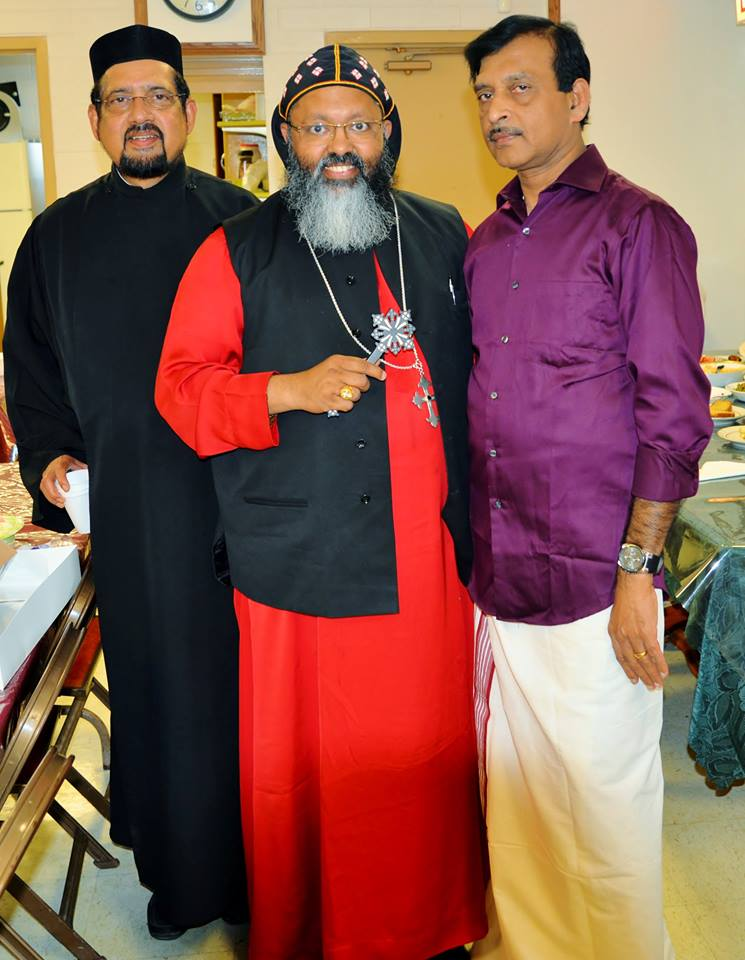 Yulios  Thirumeni Visit on June 12th 2016
