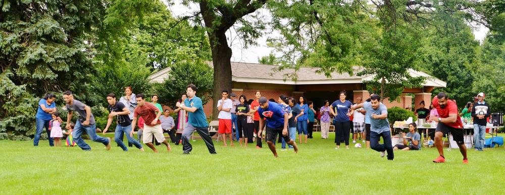 Church Picnic at Larmie Park, Skokie on Jul 30th 2016