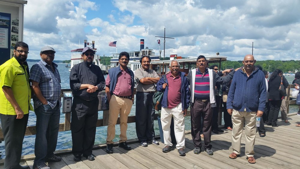 One day outing to Lake Geneva on Jun 24th, 2017