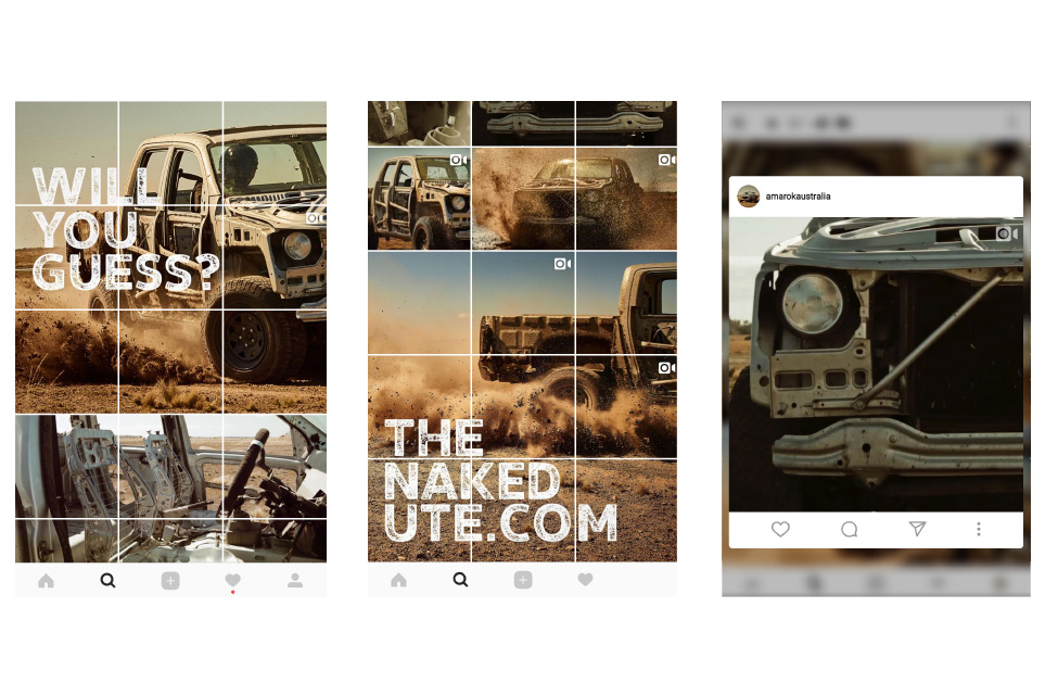 The Naked Ute on Instagram.