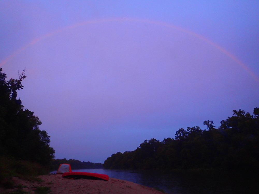 sabine river rainbow