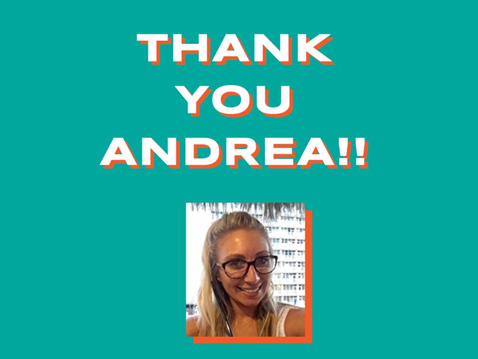 Tuesday Yoga classes with Andrea are no longer available. Thank you Andrea for your dedication over the past year, and we wish you luck on your new endeavors!  We are looking for someone to take over, so if you are interested in running a yoga or fitness class on Tuesday evenings, please contact us