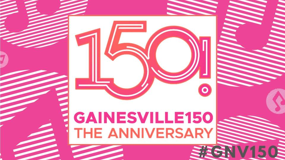 The  City of Gainesville, FL - Government  presents a Gainesville150! anniversary concert on Sat., April 13 from 6-11:30 p.m. at Bo Diddley Plaza in downtown Gainesville. The concert features four bands that pay tribute to the music of Gainesville's nine Rock & Roll Hall of Fame musicians; Bo Diddley, Stephen Stills, the Eagles and Tom Petty and the Heartbreakers, in addition to the headliner, The Bayjacks featuring Tom Leadon of Mudcrutch.   Tribute Bands Include:  Scott Free and Friends Other Voices Mark Miale Tony McMahon and Friends Heavy Petty