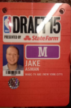 My credential for the NBA Draft