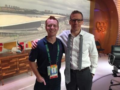 With NBCSN Host Liam McHugh