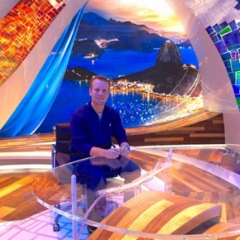 The NBC Rio Olympics Primetime Set in Rio